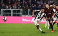 Phút 90+7, Juventus hạ Milan bằng một quả 11m