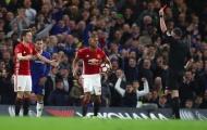 Man Utd thua, Mourinho 'nói mát' trọng tài