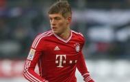 Toni Kroos thời còn ở Bayern Munich