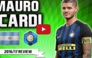 Mauro Icardi - bàn thắng, kiến tạo và kĩ thuật tuyệt vời mùa 2016/17
