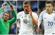 Đội hình kết hợp đại chiến Đức - Anh: Vinh danh Podolski