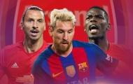 Arsenal & đội hình mua hụt 'cân cả thế giới': Messi, Pogba,... đủ cả