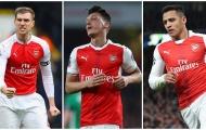 Arsenal sắp mất nguyên đội hình vào năm tới