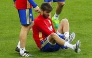 Barca 'hú hồn' với chấn thương của Pique