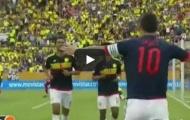 Ecuador 0-2 Colombia (vòng loại World Cup)