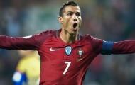Ronaldo đuổi kịp Kiatisuk, lọt vào top 10 chân sút vĩ đại nhất ở ĐTQG