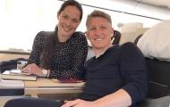 Schweinsteiger và vợ phấn khích trước chương mới của cuộc đời