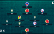 ĐHTB VL World Cup 2018 khu vực Nam Mỹ tuần qua: Có Neymar, thiếu Messi
