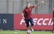 Roma 'tập bắn' chờ derby thành Rome