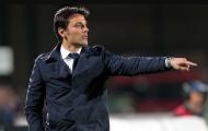 Montella thừa nhận tương lai bất định tại Milan