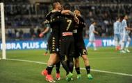 Thua tới 3 bàn trước Napoli, top 3 đã xa tầm với của Lazio