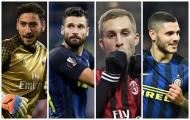 Đội hình kết hợp Milan & Inter: Nerazzurri chiếm ưu thế