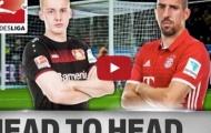 Julian Brandt vs. Franck Ribery - ai hay hơn trong mùa 2016/17?