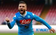 Napoli trói chân thành công Insigne thêm 5 năm