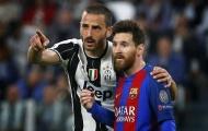 Sao Juventus 'tranh nhau' đổi áo với Messi