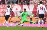 Bojan Krkic ghi bàn mở tỷ số 1-0 cho Mainz 05 (Bayern Munich 0-1 Mainz 05, vòng 34 Bundesliga)