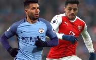 Đội hình kết hợp Arsenal & Man City: Song sát đáng sợ