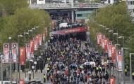 Sân Wembley 'nóng ran' trước giờ G