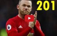 16 bàn thắng và kiến tạo của Wayne Rooney từ đầu mùa