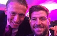 Dàn sao Liverpool bảnh bao đến dự lễ tri ân Lucas Leiva