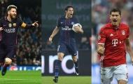 Messi và những chân sút tốt nhất Champions League mùa này