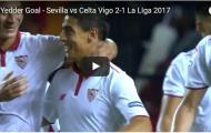 Bàn thắng ấn định tỉ số của Wissam Ben Yedder (Sevilla 2-1 Celta Vigo)