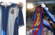 Espanyol đá xéo Messi trước derby Catalan