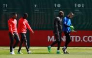 Man Utd một lúc đón 5 thương binh trở lại tập luyện