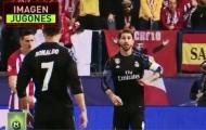 Ramos vạch kế hoạch cho Ronaldo ăn vạ câu thẻ đỏ