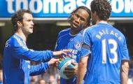 Ballack và Drogba từng tranh cãi kịch liệt vì... một quả đá phạt