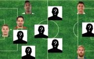 ĐHTB châu Âu mùa 2016/17: Có Pogba, sao Napoli sánh vai cùng Ronaldo và Messi