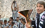 Juventus và chức vô địch 'bá đạo' cùng với Conte