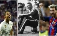 Ronaldo, Messi và top những ngôi sao ghi bàn nhiều nhất cho một CLB