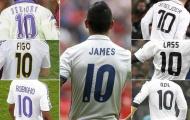 James ra đi, để lại câu hỏi về chiếc áo số 10 của Real Madrid