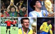 Maradona, Casillas và những cầu thủ từng vô địch cả World Cup lẫn U20 World Cup