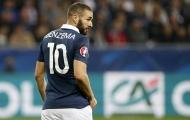 Benzema tiếp tục bị bỏ rơi ở đội tuyển Pháp