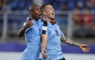 Siêu phẩm bù đắp penalty, U20 Uruguay khuất phục U20 Ý