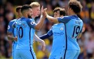 Chấm điểm Man City sau trận đấu với Watford: Hàng công thăng hoa