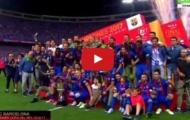 Toàn cảnh lễ trao giải cúp Nhà vua: Nụ cười Barca, nước mắt Alaves