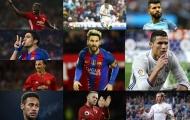 10 ngôi sao có thu nhập cao nhất 2017: Messi 'hít khói' Ronaldo