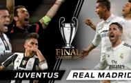 Đội hình kết hợp trận chung kết Champions League: Song sát Ronaldo - Higuain