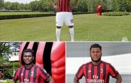 Mục tiêu của Man Utd: 'Tôi đẹp trai hơn khi mặc áo AC Milan'