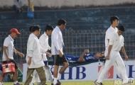 Điểm tin bóng đá Việt Nam sáng 5/6: Trung vệ Quảng Nam FC đi cấp cứu vì bị thụt lưỡi