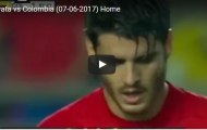 Alvaro Morata thể hiện ra sao trước Colombia?