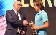 Luka Modric lần thứ 5 liên tiếp được vinh danh tại quê nhà