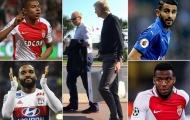 Mùa Hè điên rồ của Wenger: 'Điệp vụ' Nice
