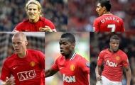 Pique, Pogba và 10 thương vụ sai lầm bị Man Utd bán quá sớm (Phần 2)