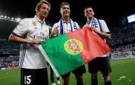 Đàn em của Ronaldo bị đuổi khỏi Real Madrid