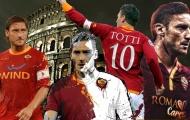 Totti và 10 cái nhất do CĐV bình chọn trong suốt sự nghiệp 25 năm