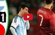 Trận cầu đáng nhớ: Argentina 0-1 Bồ Đào Nha (2014)